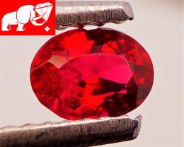 JEDI! VIVID! Unheated 0.41 CT Red Spinel $700 (Mogok, Burma)