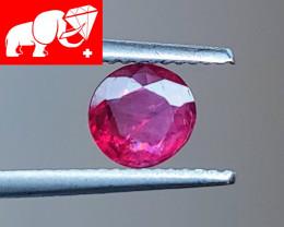 JEDI! Unheated 0.78 CT Red Spinel $200 (Mogok, Burma)