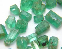 25Ct Natural Emerald Facet Rough Parcel