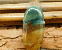 Oval cut shape fancy agate cabochon (G1210)