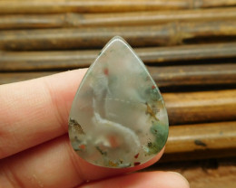 African bloodstone cabochon (G1212)