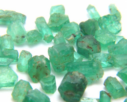 100Ct  Natural Emerald Facet Rough Parcel