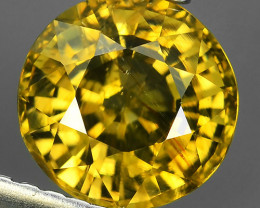 2.20 CTS EXTREME ROUND NATURAL RARE COLOR  ZIRCON