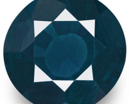 IGI Certified Sri Lanka Spinel, 3.80 Carats, Dark Blue Oval