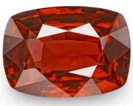 IGI Certified Burma Spinel, 2.77 Carats, Brownish Red Cushion