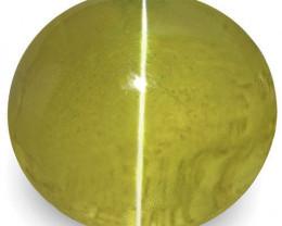 IGI Certified Sri Lanka Chrysoberyl Cat's Eye, 1.96 Carats, Oval