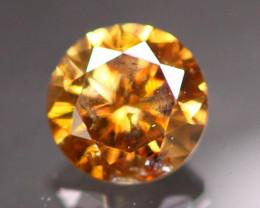 Diamond 0.29Ct Untreated Fancy Cognac Diamond CF1909