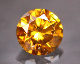 Diamond 0.20Ct Untreated Fancy Cognac Diamond CF1933