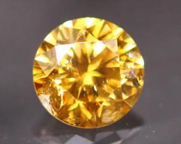 Diamond 0.23Ct Untreated Fancy Cognac Diamond CF1934