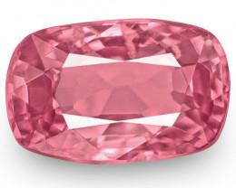 IGI Certified Burma Spinel, 1.01 Carats, Intense Pink Cushion