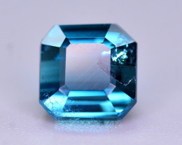 Superb Quality 1.50 Ct Lagoon Blue Tourmaline From Afghanistan. ARA2
