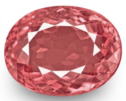 IGI Certified Tajikistan Spinel, 3.10 Carats, Medium Pink Oval