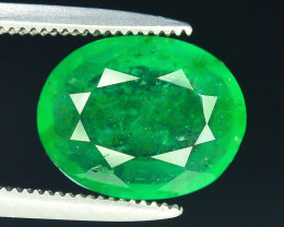 Top Color 2.35 ct Natural Emerald~Swat