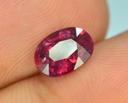 Top Color 1.35 ct Malawi Raspberry Pink Umbalite Garnet