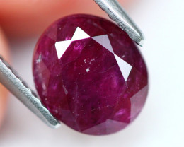 Red Ruby 2.34Ct Natural Burmese Red Ruby A1910