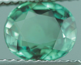 1.55 CT  BRILLIANT STEP CUT NATURAL CHRYSOBERYL ALEXANDRITE