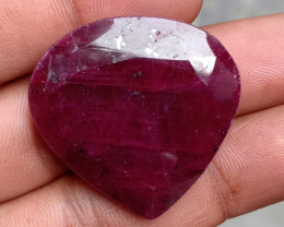 BIG NATURAL RUBY GEMSTONE treated gem VA2130