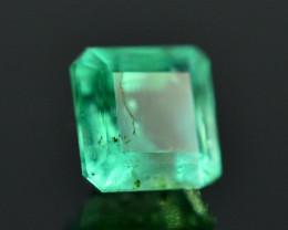 AAA Color 0.40 Ct Natural Panjshir Emerald. RA