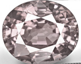 GII Certified Burma Spinel, 5.20 Carats, Soft Violetish Grey Oval
