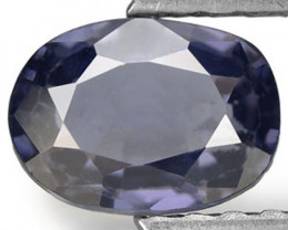 Sri Lanka Spinel, 1.66 Carats, Bluish Purple Oval