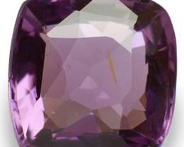 Sri Lanka Spinel, 1.21 Carats, Violet Cushion
