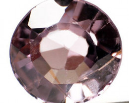 Burma Spinel, 0.89 Carats, Purplish Brown Round