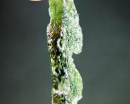 Vibrant Green Very Glossy - RARE -Moldavite