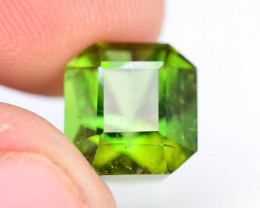 Top Color 5.0 Ct Lagoon Green Tourmaline From Afghanistan