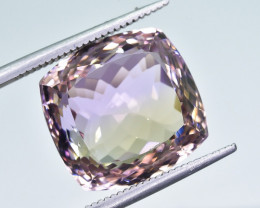 14.63 Crt Natural Ametrine Faceted Gemstone.( AB 01)