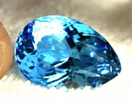 42.6 Carat Brazil Blue VVS Topaz - Superb