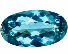19.11 Ct. Natural Blue Beryl Brazil IGE - CERTIFIED