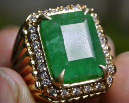12.75 CT EMERALD BRAZIL-TREATED