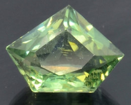 4.04 Cts Green Apatite ~ Awesome Color and Luster ~ AT1
