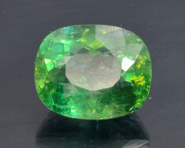 4.36 Cts Green Apatite ~ Awesome Color and Luster ~ AT4
