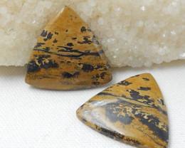 83cts 4pcs Chohua Jasper Cabochons, Chohua Jasper Beads ,jewelry making D83