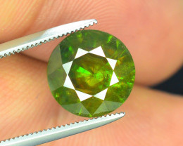 AAA Color 3.90 ct Chrome Sphene from Himalayan Range Skardu Pakistan