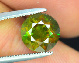 AAA Color 2.25 ct Chrome Sphene from Himalayan Range Skardu Pakistan