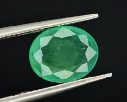 Top Quality 1.75  Ct Natural Zambian Emerald