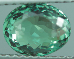 1.83 CT TOP QUALITY  BLUISH GREEN OVAL SHAPE NATURAL ALEXANDRITE