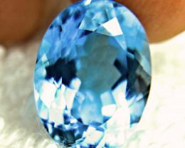 23.67 Ct. Blue Brazil VVS Topaz - Gorgeous