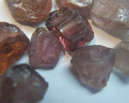 250Ct Natural Zircon Facet Rough Parcel