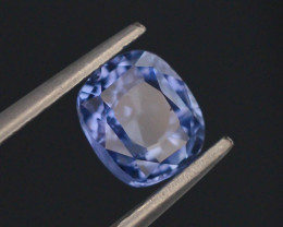 CIGTL Certified 1.38 ct Natural Untreated Blue Sapphire