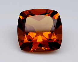 6Crt Madeira Citrine Natural Gemstones JI32