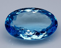 20Crt Blue Topaz Natural Gemstones JI32