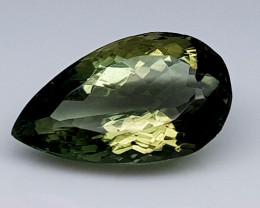 7.35Crt Green Prasolite  Natural Gemstones JI32