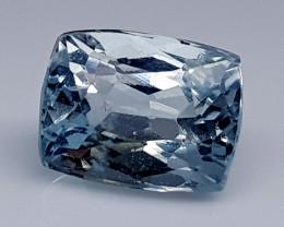 3.35Crt Aquamarine Natural Gemstones JI32