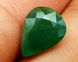 4.35Crt World Rarest Grandidierite  Natural Gemstones JI32