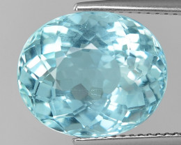8.66 Cts Aquamarine Awesome Luster and Cut ~ Skardu AQ16