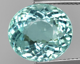 7.63 Cts Aquamarine Awesome Luster and Cut ~ Skardu AQ18
