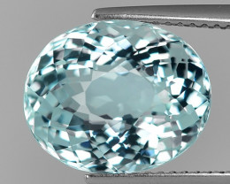 6.47 Cts Aquamarine Awesome Luster and Cut ~ Skardu AQ19
